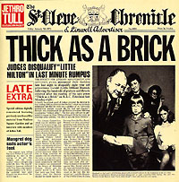 Обложка альбома «Thick As A Brick» (Jethro Tull, 1997)