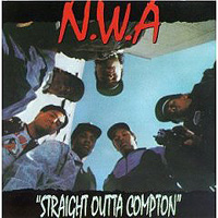 Обложка альбома «Straight Outta Compton» (N.W.A., 2006)