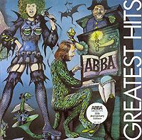 Обложка альбома «Greatest Hits. 30th Anniversary Edition» (ABBA, 2006)