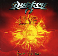 Обложка альбома «Live From The Sun» (Dokken, 2001)
