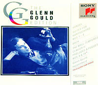 Обложка альбома «The Glenn Gould Edition» (Handel, Bach, 1993)