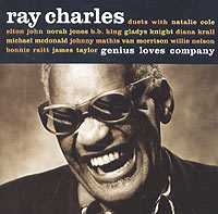 Обложка альбома «Genius Loves Company» (Ray Charles, 2004)