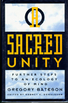 Обожка книги «A Sacred Unity: Further Steps to an Ecology of Mind» Г. Бейтсона