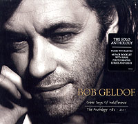 Обложка альбома «Great Songs Of Indifference. The Anthology 1986-2001» (Bob Geldof, 2005)