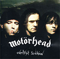 Обложка альбома «Overnight Sensation» (Motorhead, 1996)