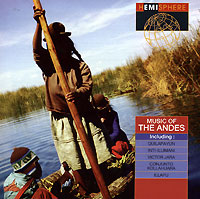 Обложка альбома «Various Artist. Music Of The Andes» (1994)