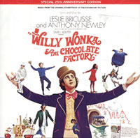 Обложка альбома «Willy Wonka & The Chocolate Factory. Music From The Original Soundtrack Of The Paramount Picture» (Leslie Bricusse, Anthony Newley, 1996)