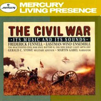 Обложка альбома «The Civil War. Its Music And Its Sounds» (Frederick Fennell, 2006)