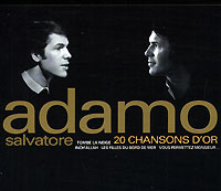 Обложка альбома «20 Chansons D'or» (Salvatore Adamo, 1998)