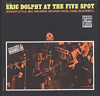 Обложка альбома «At The Five Spot. Vol. 2» (Eric Dolphy, 1992)