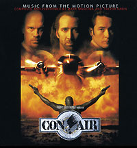 Обложка альбома «Con Air. Music From The Motion Picture» (Mark Mancina & Trevor Rabin, 2006)