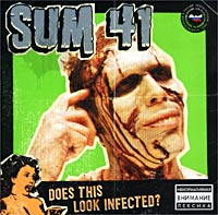 Обложка альбома «Does This Look Infected?» (Sum 41, 2002)