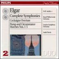 Обложка альбома «Elgar. Complete Symphonies. Cockaigne Overture. Pomp And Circumstance. Andre Previn» (Andre Previn, 2006)
