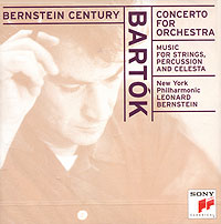 Обложка альбома «Bartok. Concerto For Orchestra. Music For Strings. Bernstein» (Bernstein, 1998)