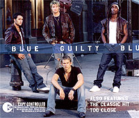 Обложка альбома «Guilty / Too Close» (Blue, 2003)