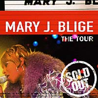 Обложка альбома «The Tour» (Mary J. Blige, 1998)