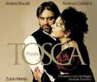 Обложка альбома «Tosca. Bocelli» (Puccini, 2006)