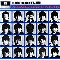 Обложка альбома «The Beatles. A Hard Day's Night» (1964)