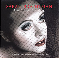 Обложка альбома «Love Changes Everything» (Sarah Brightman, 2005)