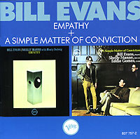 Обложка альбома «Empathy. A Simple Matter Of Conviction» (Bill Evans, 1989)