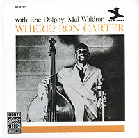 Обложка альбома «Ron Carter With Eric Dolphy, Mal Waldron. Where?» (Ron Carter, Eric Dolphy, Mal Waldron, 1990)