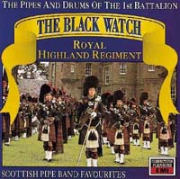 Обложка альбома «Scottish Pipe Band Favourites» (1st Batallion Black Watch, ????)