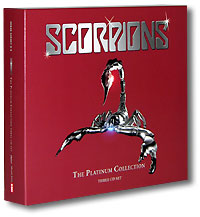 Обложка альбома «The Platinum Collection» (Scorpions, 2005)