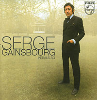 Обложка альбома «Initials SG» (Serge Gainsbourg, 2002)