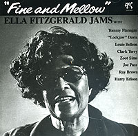Обложка альбома «Fine And Mellow» (Ella Fitzgerald, 1987)