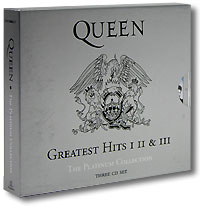 Обложка альбома «The Platinum Collection. Greatest Hits I, II & III» (Queen, 2000)