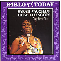 Обложка альбома «Sarah Vaughan. Duke Ellington. Songbook Vol. 2» (Sarah Vaughan, Duke Ellington, 1980)
