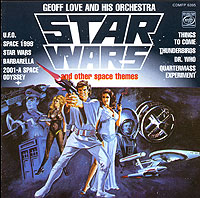 Обложка альбома «And His Orchestra. Star Wars And Other Space Themes» (Geoff Love, 1997)