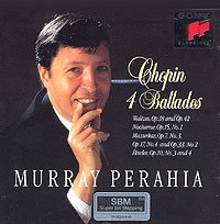 Обложка альбома «Chopin. 4 Ballades. Murray Perahia» (Chopin, Murray Perahia, 1994)