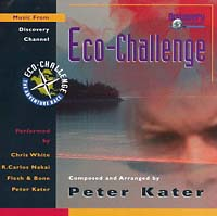 Обложка альбома «Eco-Challenge: Music from Discovery Channel» (Peter Kater, 1999)