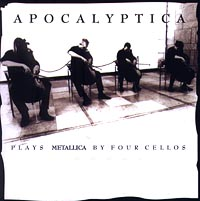 Обложка альбома «Plays Metallica By Four Cellos» (Apocalyptica, 1996)