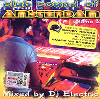 Обложка альбома «Club Sound Of Amsterdam. Volume 2» (DJ Electric, 2005)