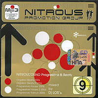 Обложка альбома «Nitrosound Progressive & Beats mixed by DJ Los'ь» (DJ Los'ь, 2006)