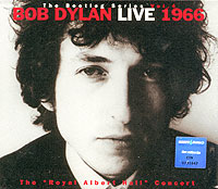 Обложка альбома «Live 1966. The Royal Albert Hall Concert» (Bob Dylan, 1998)