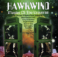 Обложка альбома «Master Of The Universe» (Hawkwind, 2001)