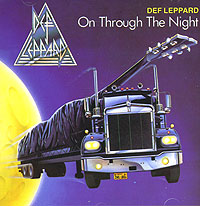 Обложка альбома «On Through The Night» (Def Leppard, 1986)