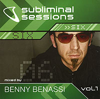 Обложка альбома «Various Artists. Subliminal Sessions. Six. Mixed By Benny Benassi. Vol. 1» (2005)