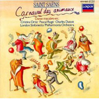 Обложка альбома «Carnival Of The Animals. Dutoit» (Saint-Saens, 2006)