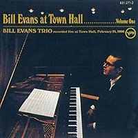 Обложка альбома «Bill Evans At Town Hall. Vol. 1» (Bill Evans Trio, 2006)