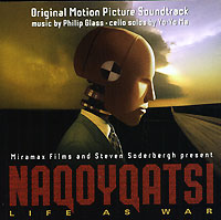 Обложка альбома «Naqoyqatsi. Original Motion Picture Soundtrack» (Philip Glass, 2002)