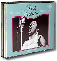 Обложка альбома «The Complete Dinah Washington On Mercury. Vol.4» (Dinah Washington, 1988)