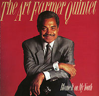 Обложка альбома «Blame It On My Youth» (Art Farmer Quintet, 1988)