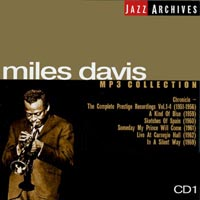 Обложка альбома «Jazz Archives. Miles Davis. CD 1. MP3 Collection» (Miles Davis, 2003)