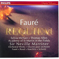 Обложка альбома «Requiem. Sir Neville Marriner» (Faure, 2006)