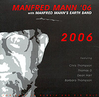 Обложка альбома ««06 With Manfred Mann's Earth Band. 2006» (Manfred Mann, 2004)