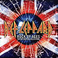 Обложка альбома «Rock Of Ages. The Definitive Collection» (Def Leppard, 2005)